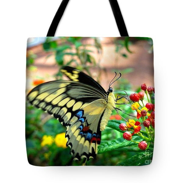 Eating On The Fly Tote Bag