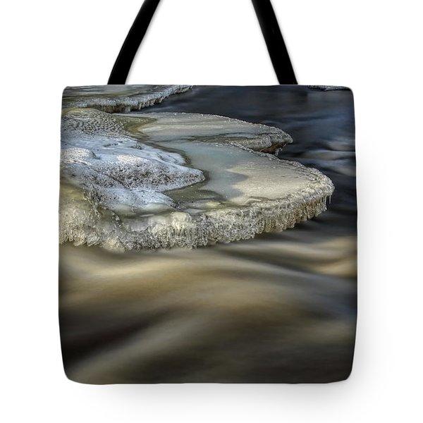 Eau Claire Dells Park River Ice Tote Bag