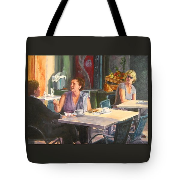 Eavesdropper Tote Bag