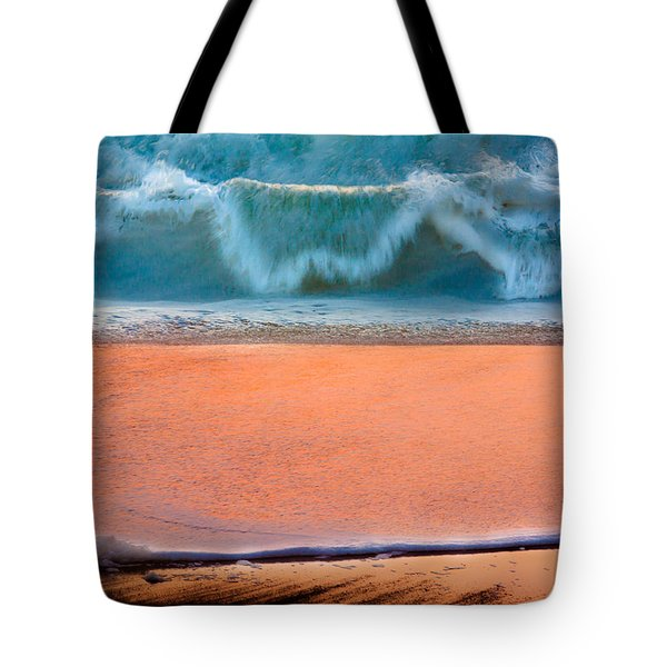 Tote Bag featuring the photograph Ebb And Flow by Edgar Laureano