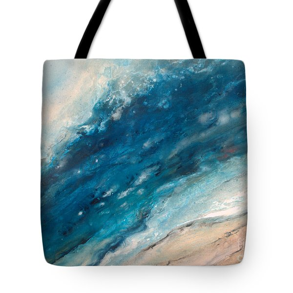 Ebb And Flow Tote Bag by Valerie Travers