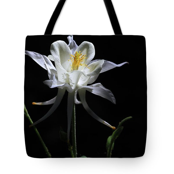 Ebony And Ivory Tote Bag by Donna Kennedy
