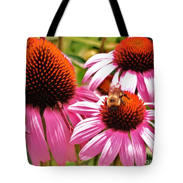 Tote Bag featuring the photograph Ech 2 by Robin Coaker
