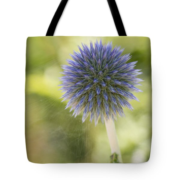Echinops Blue Tote Bag