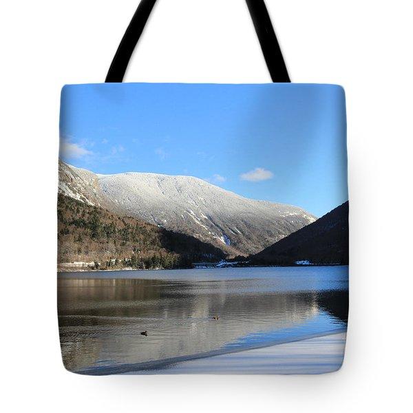 Echo Lake Franconia Notch Tote Bag