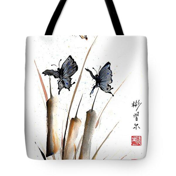 Echo Of Silence Tote Bag