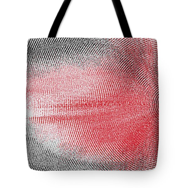 Tote Bag featuring the painting Echo by Roz Abellera Art