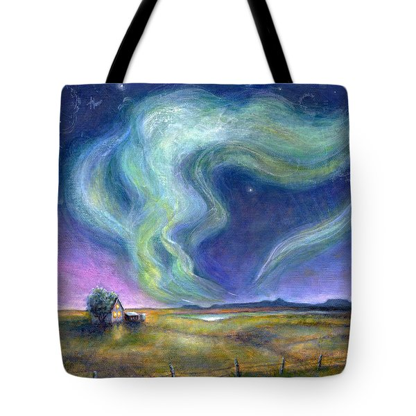 Echoes In The Sky Tote Bag