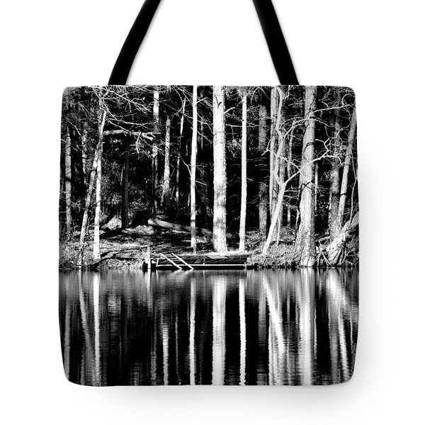 Echoing Trees Tote Bag by Tara Potts