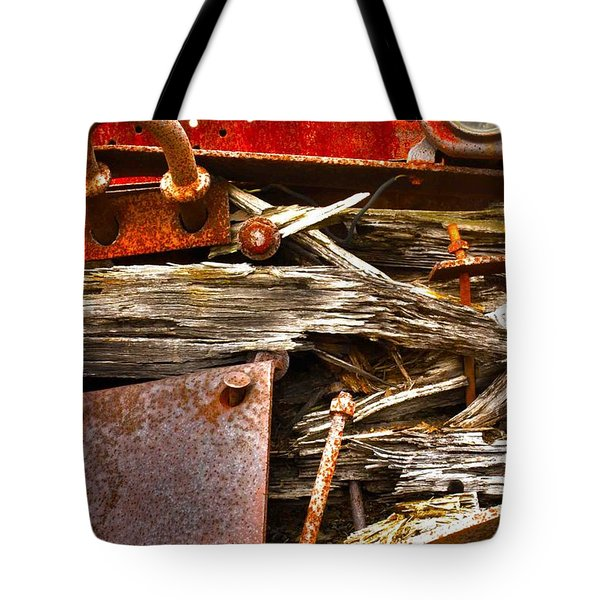 Eckley Faces Tote Bag
