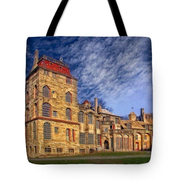 Eclectic Castle Tote Bag by Susan Candelario