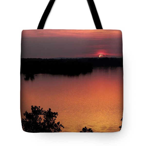 Eclipse Of The Sunset Tote Bag by Jason Politte