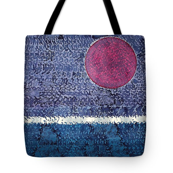 Eclipse Original Painting Tote Bag by Sol Luckman