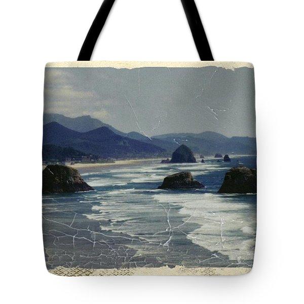 Ecola Sea Stacks Tote Bag