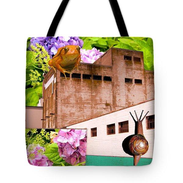 Ecological Revolt Tote Bag