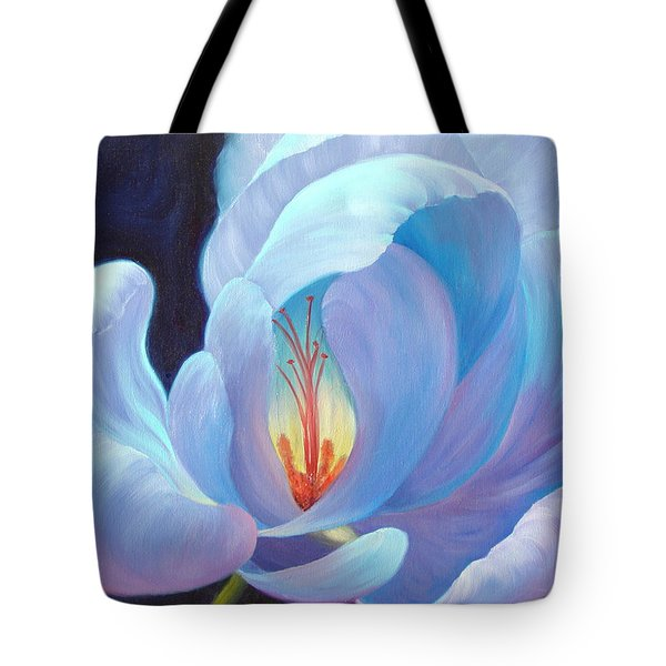 Tote Bag featuring the painting Ecstasy by Sandi Whetzel
