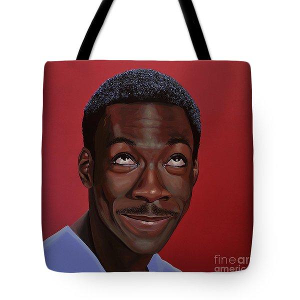 Eddie Murphy Painting Tote Bag