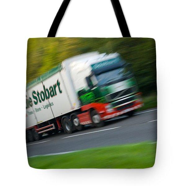 Eddie Stobart Lorry Tote Bag by Amanda Elwell