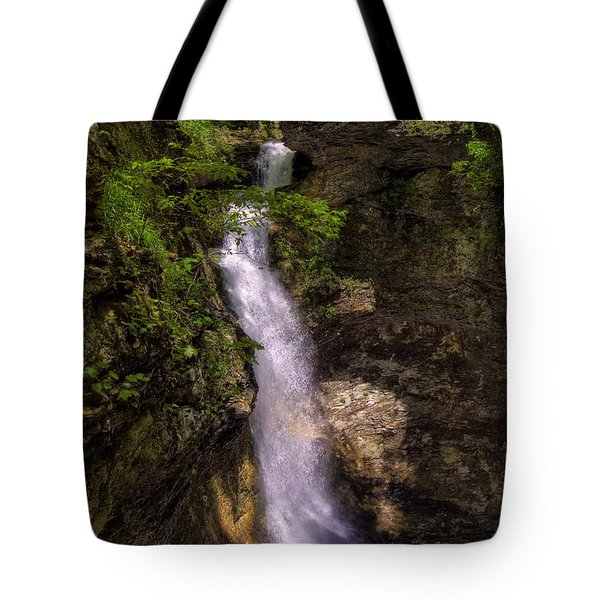 Eden Falls Lost Valley Buffalo National River Tote Bag