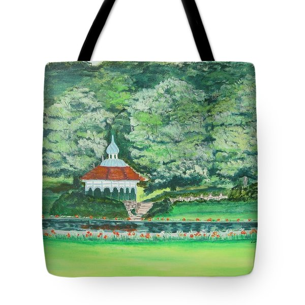 Eden Park  Cincinnati Ohio Tote Bag by Diane Pape