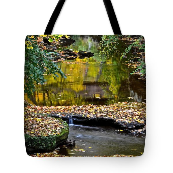 Eden Tote Bag by Frozen in Time Fine Art Photography