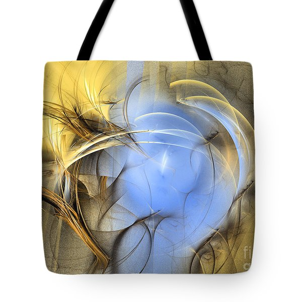 Eden - Abstract Art Tote Bag