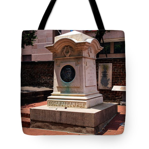 Edgar Allan Poe Tomb Tote Bag