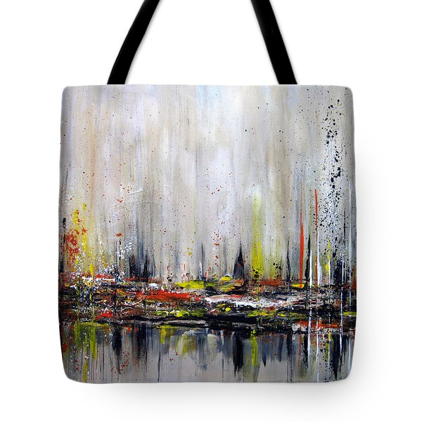Edge Of Perception Tote Bag