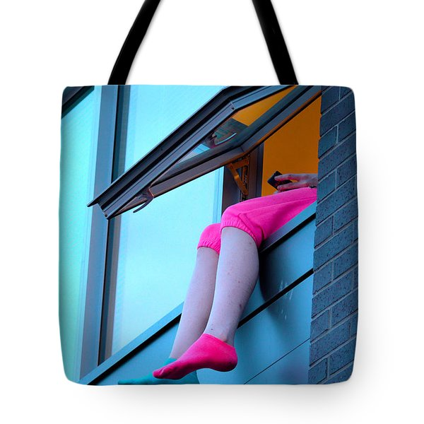Edge Of Reception Tote Bag by Empty Wall