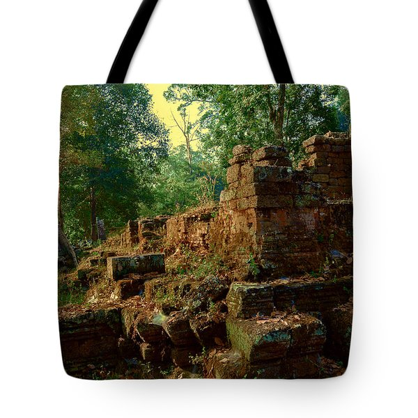 Edge Of Ruin Tote Bag
