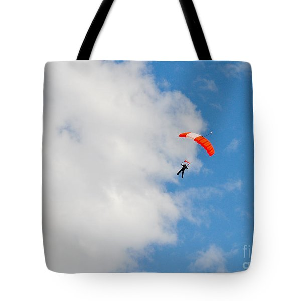 Edge Of The Clouds Tote Bag by Cheryl McClure