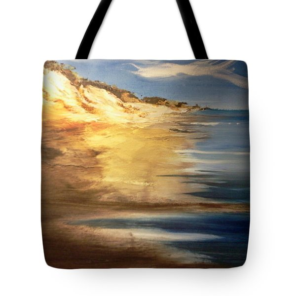 Edge Of The Country Tote Bag by Joseph Gallant