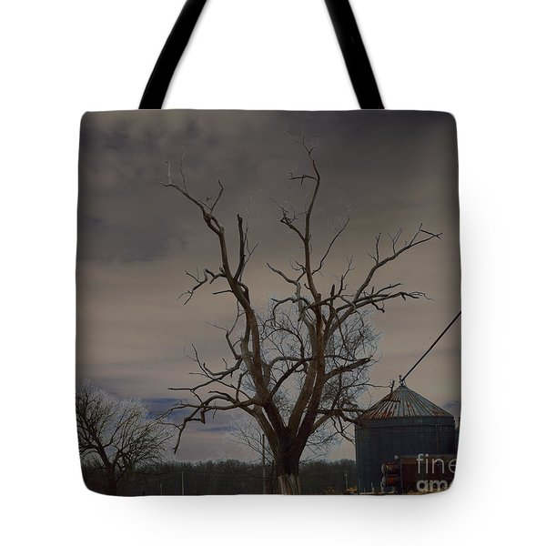 Edge Of The Storm Tote Bag by Alys Caviness-Gober
