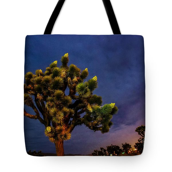 Edge Of Town Tote Bag