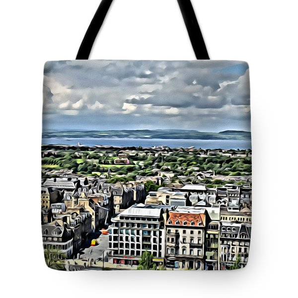 Tote Bag featuring the photograph Edinburgh by Beauty For God