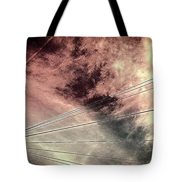 Dramatic Sky 3 Tote Bag by Jason Michael Roust