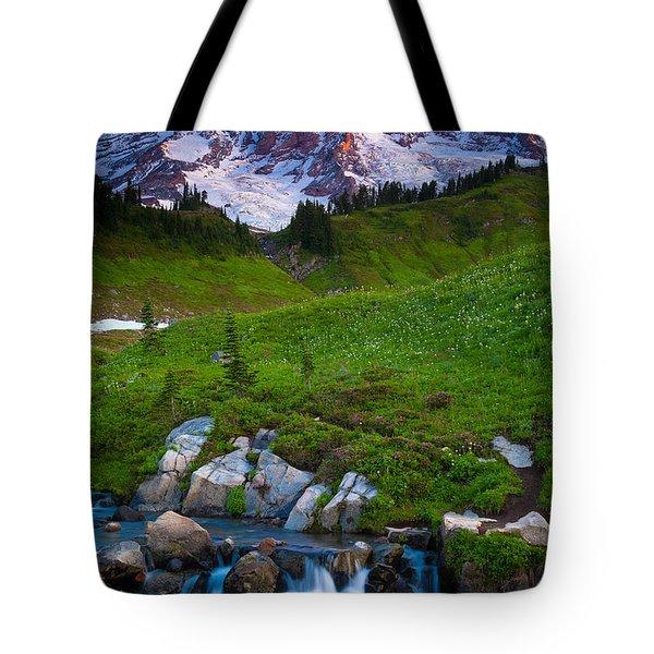 Edith Creek Tote Bag