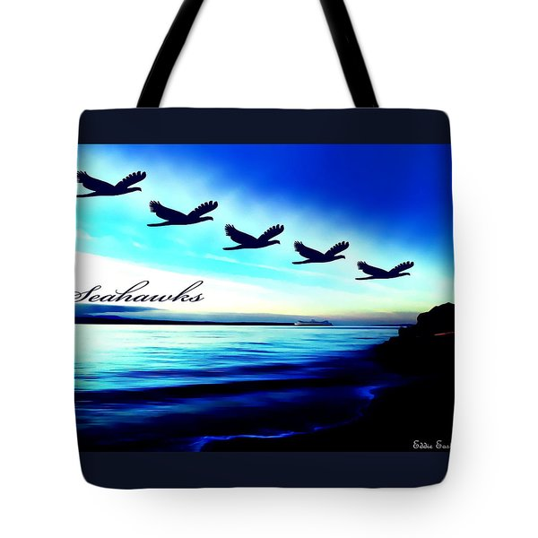 Tote Bag featuring the photograph Edmonds Washington Waterfront by Eddie Eastwood