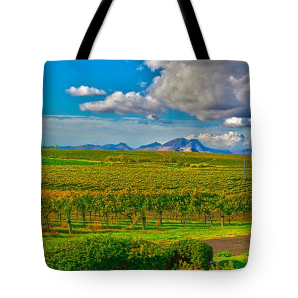 Edna Wineries Ca Tote Bag