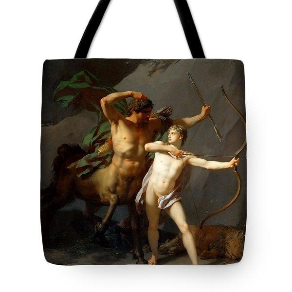 Education Of Achilles Tote Bag