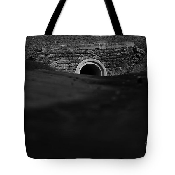 Eerie Tunnel Tote Bag