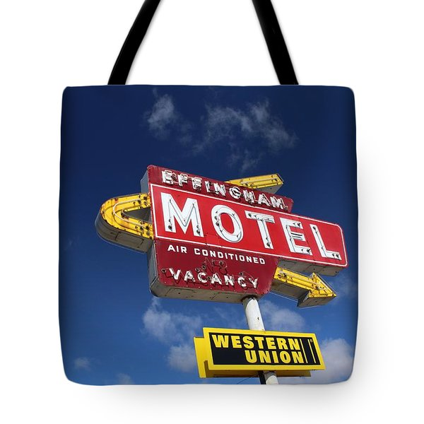 Effingham Motel Tote Bag