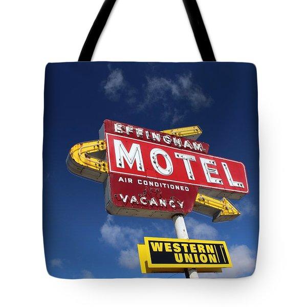 Effingham Motel Tote Bag