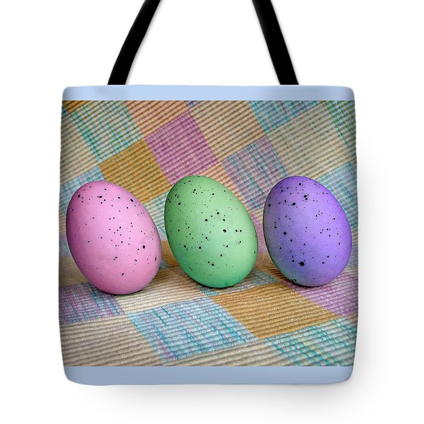 Tote Bag featuring the photograph Easter Egg Roll by Jim Whalen