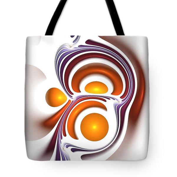 Eggcity Tote Bag by Anastasiya Malakhova