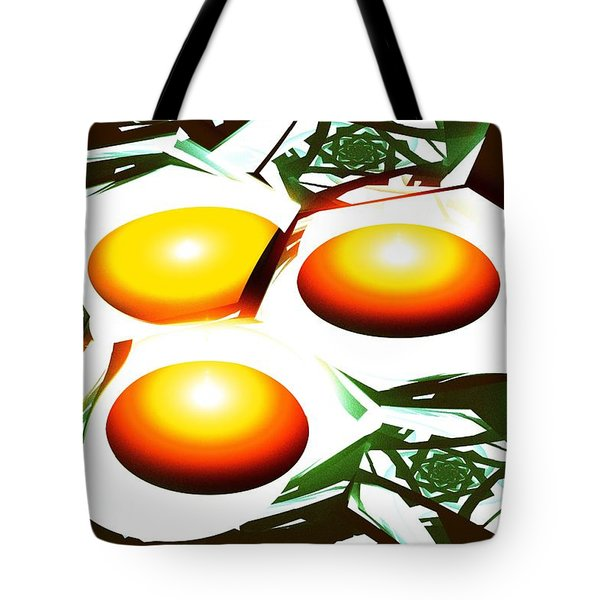 Eggs For Breakfast Tote Bag