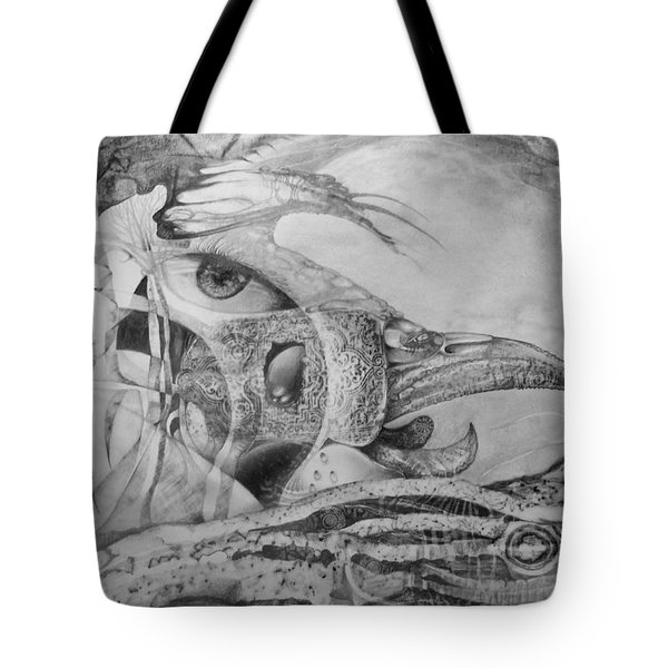 Ego-bird-fish Nesting Ground Tote Bag by Otto Rapp