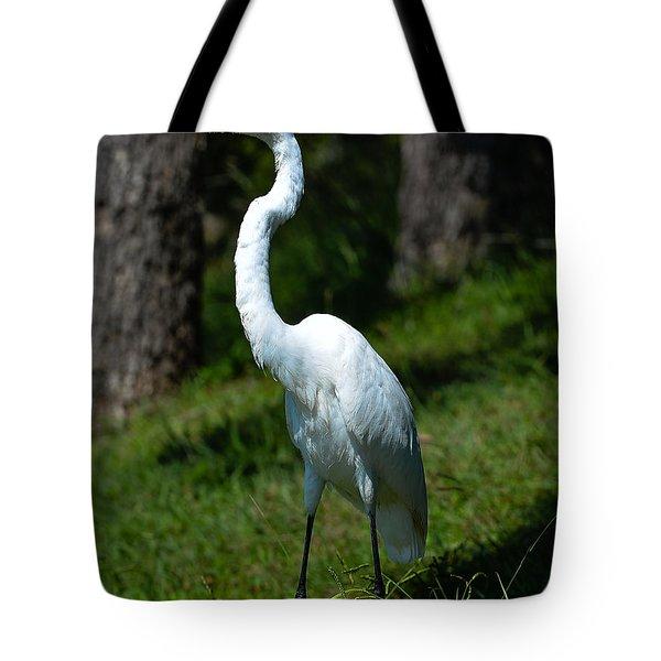 Egret - Full Length Tote Bag