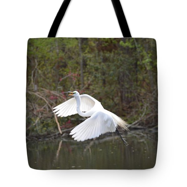 Over The Lagoon Tote Bag