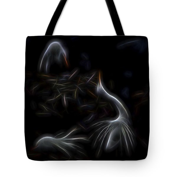 Egret Rookery 1 Tote Bag by William Horden